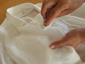 服のシミ取りの方法やコツ