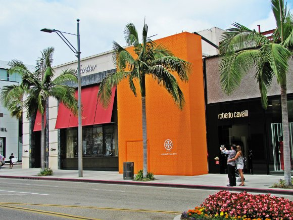 Rodeo Drive Storefronts