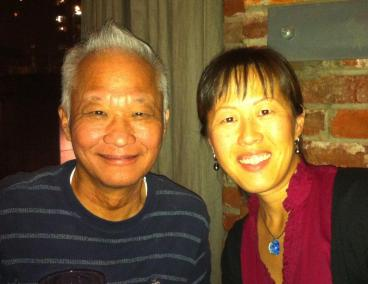 Dr. Richard Tan and Dr. Sonia Tan at one of the final visiting times. c.2015