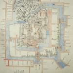 小場家絵図(水野前期:福山城博物館蔵)