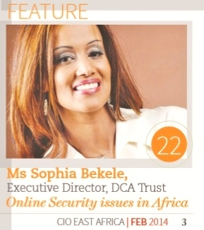 Africa's CyberSecurity debate must involve all stakeholders: says Online Security Expert, Sophia Bekele