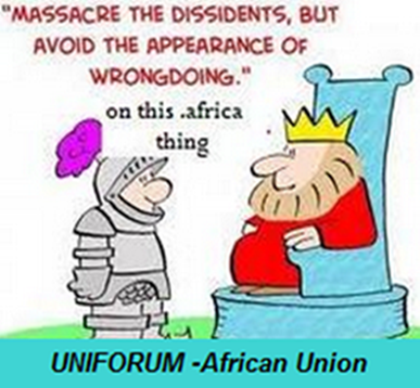 Did ZACR and Africa Union ignore the warning to be wary of wrong doing over .Africa?