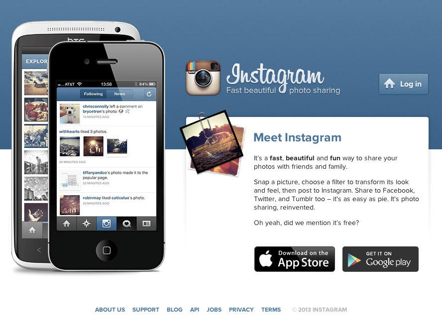 Instagram now allows mobile web sharing