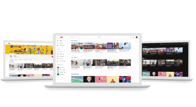 You Tube launches a new desk top site