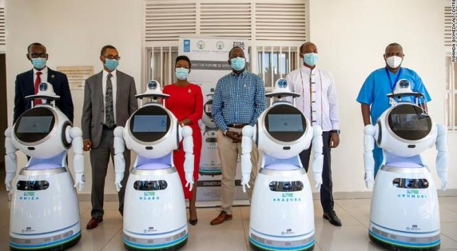 Rwanda  introduces anti-epidemic robots in fight against coronavirus