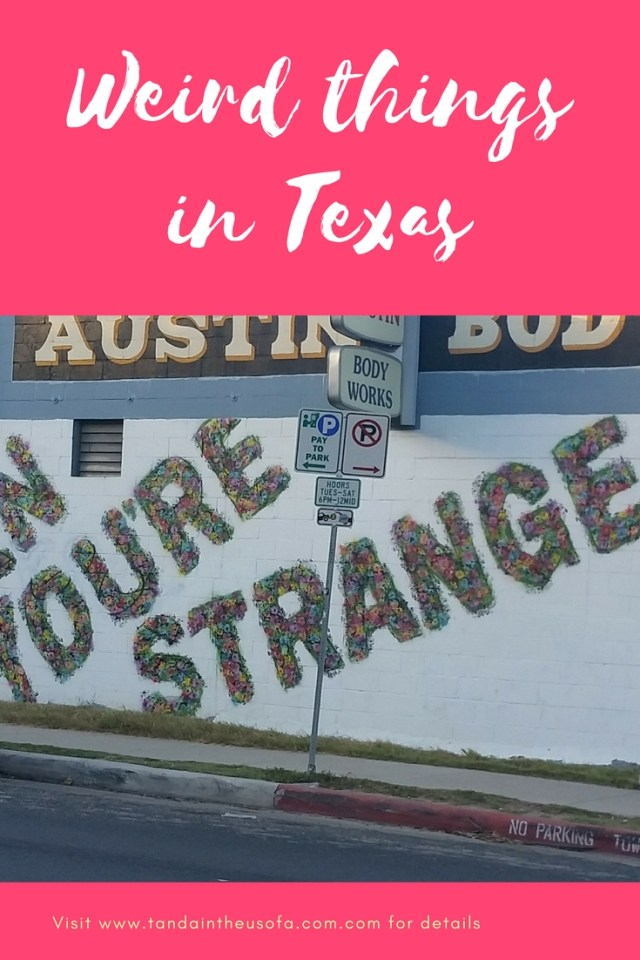 Some of the weird things you might find in Texas!