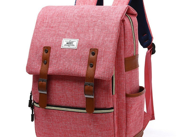 Watermelon red backpack from bagail