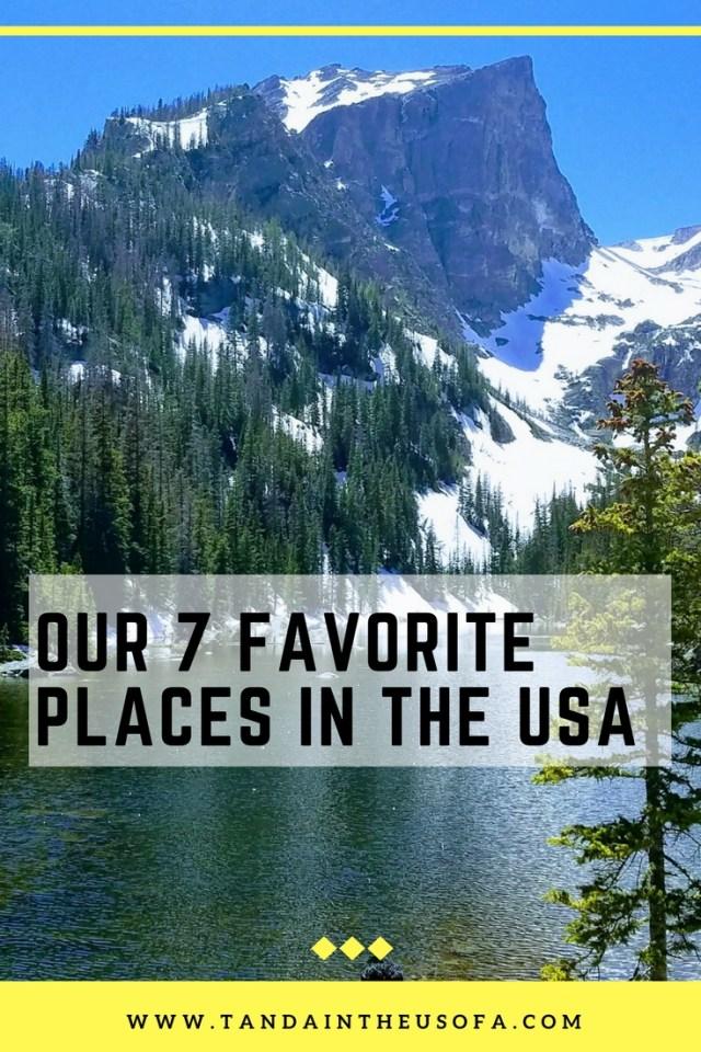 7 favorite places