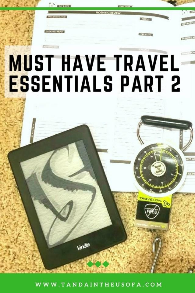 travel essentials part 2