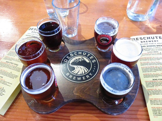 Flights are a great way to sample all kinds of beer at craft breweries