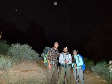 Night hiking