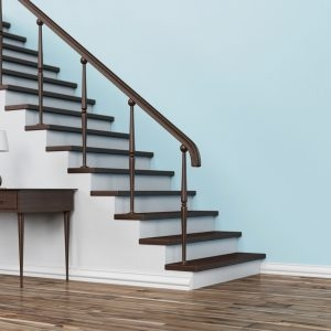 Connecting Your Upstairs And Downstairs Flooring T G Flooring   Wood Floors And Stairs   Inside   Red Oak   Cherry Wood   Combined Wood   Rustic Wood