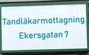 Tandläkarmottagning Ekersgatan 7 Örebro