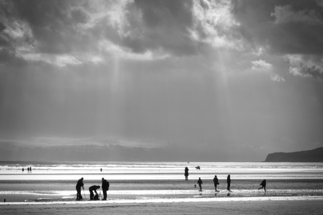 Packing Up Before the Heavens Open by Paul Graber