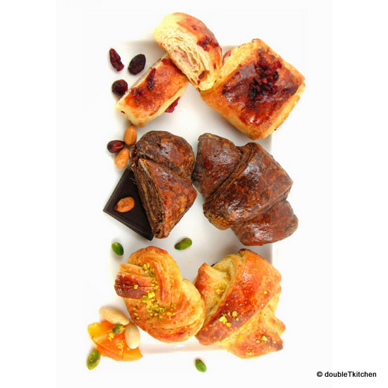 Danish pastry - dansko pecivo