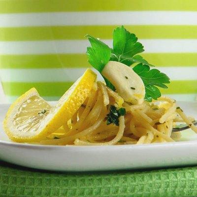 Špageti s limunom