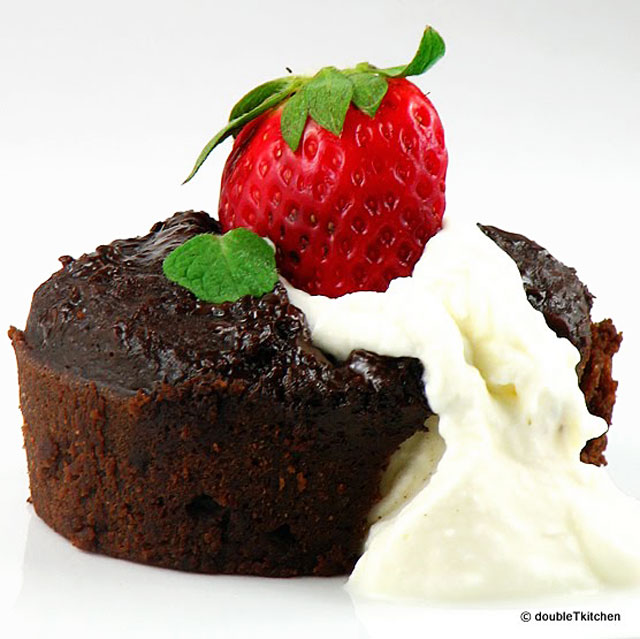 :: Chocolate steamed pudding ::