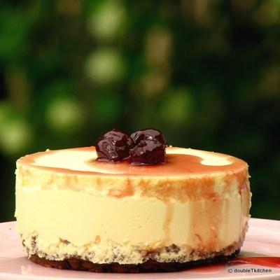 Tortice od sira sa sirupom od višanja