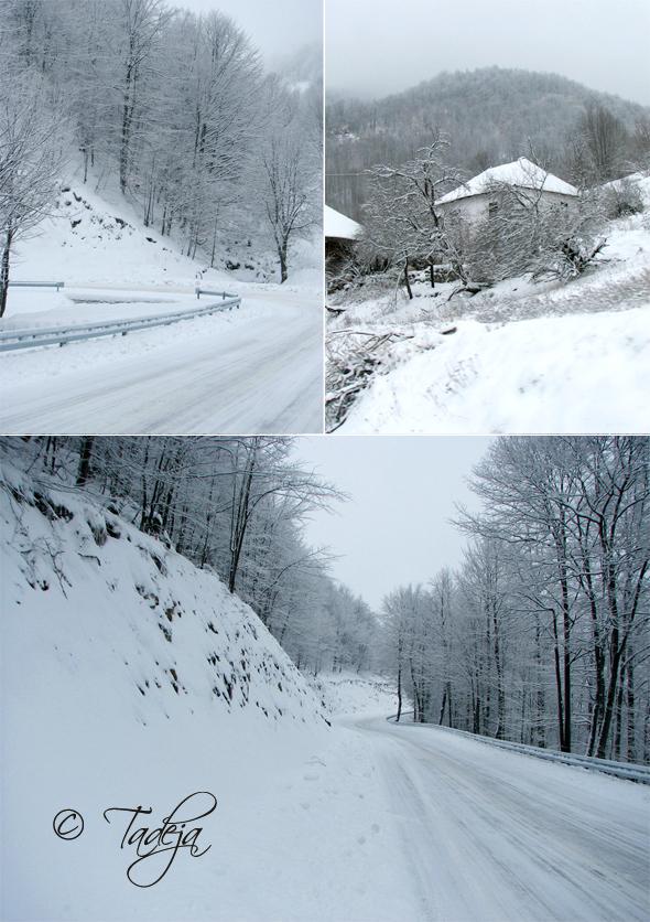 Stara planina u snijegu