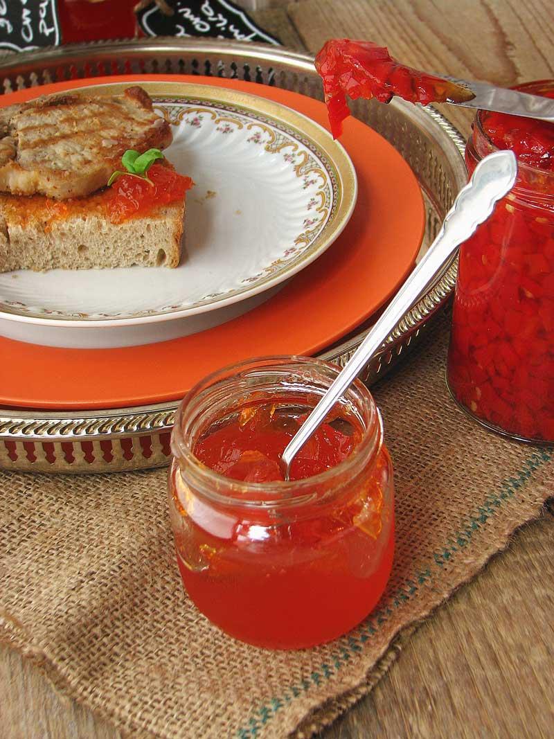 Žele od soka crvenih paprika
