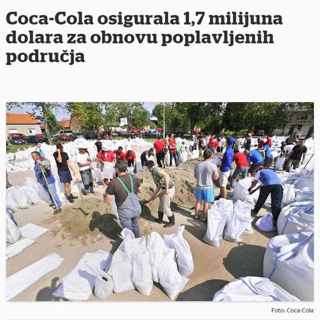 :: Coca - Cola - poplave ::