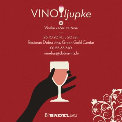 Dobra vina: Badel vina – Vinoljupke – vinske večeri rezervirane za žene