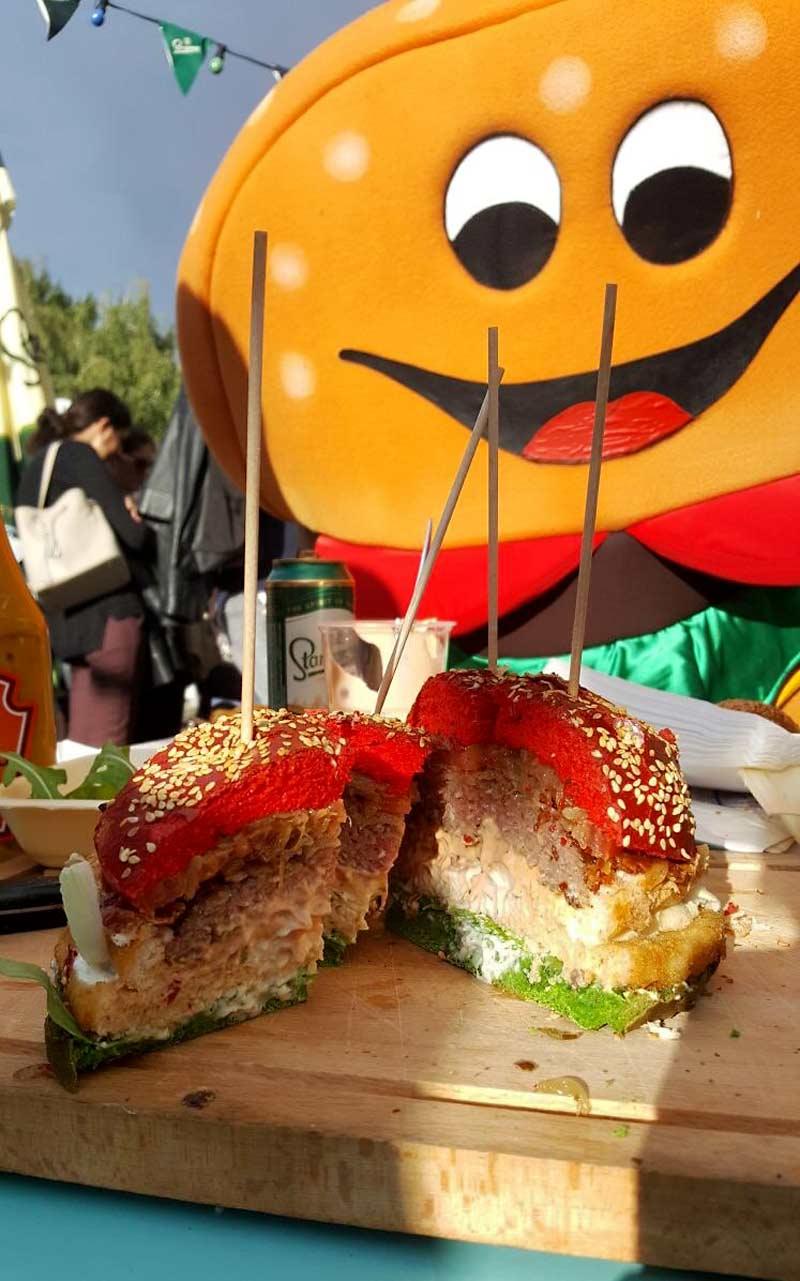 Morsko mesni Barba - Plac burger