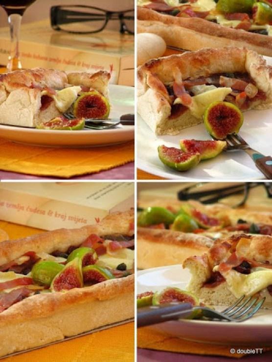 pizza sa slatkim od luka i smokava kolaz