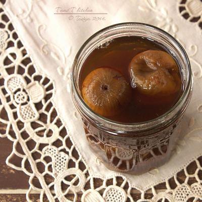 Suhe smokve u sirupu od Earl Grey čaja