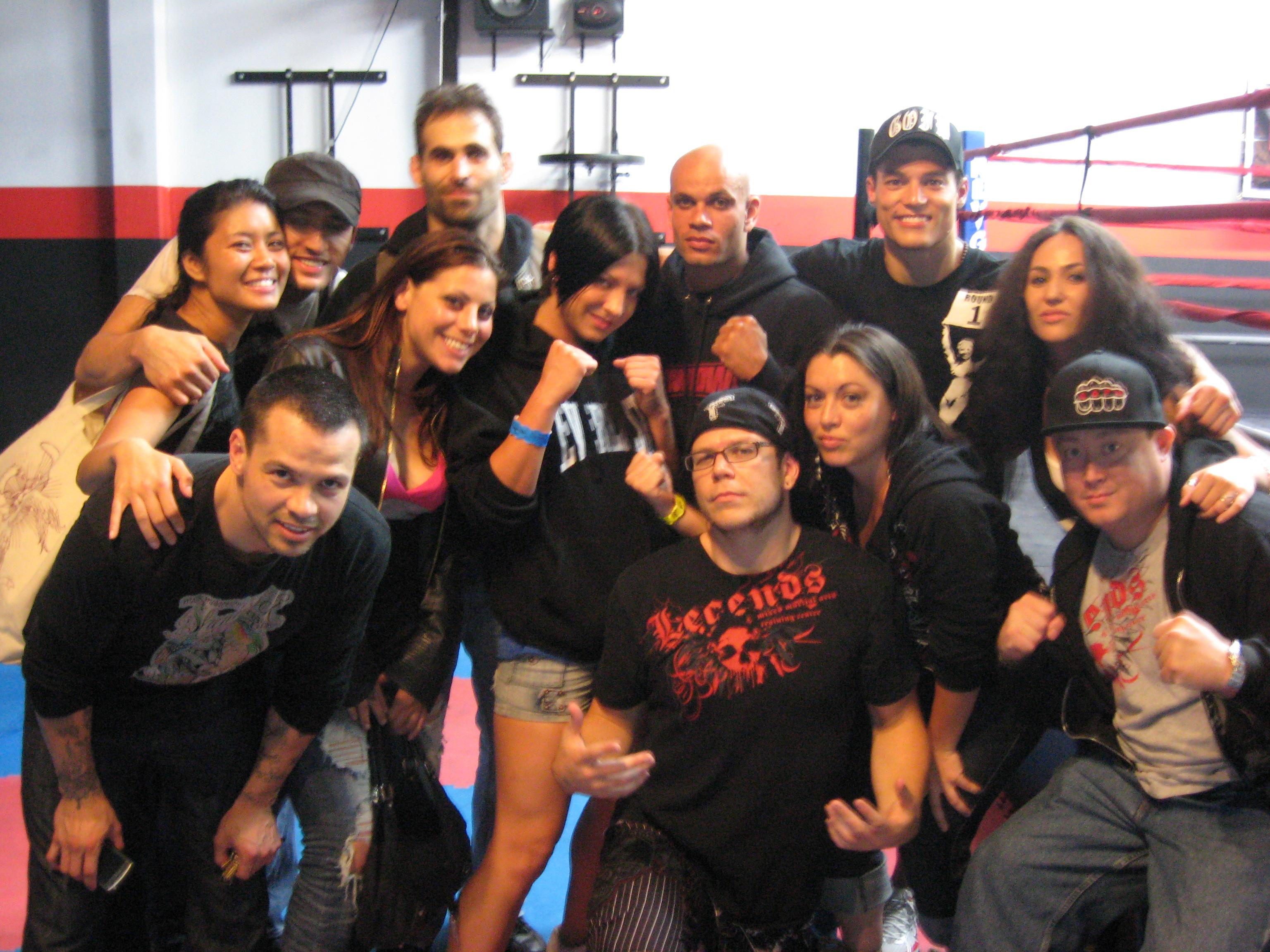 """Legends MMA represents at South Coast Martial Arts' """"Fight Night III."""""""