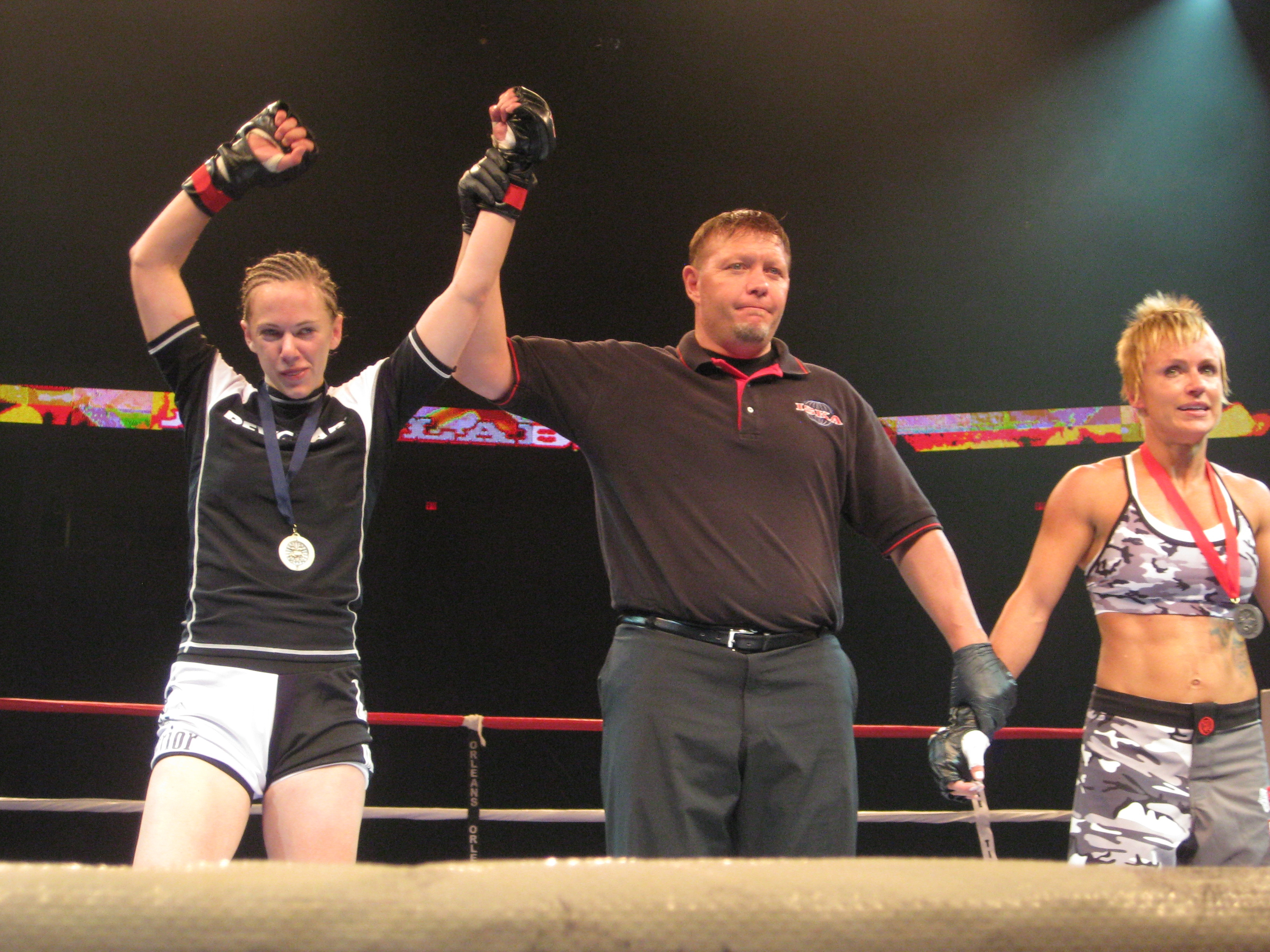 Kate McGray won her MMA debut by unanimous decision.