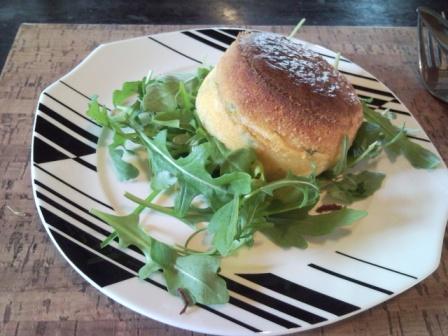 Blue Brie Savoury Soufflé