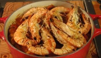 prawn & spicy sausage jambalaya