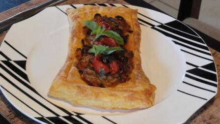Onion And Tomato Tart