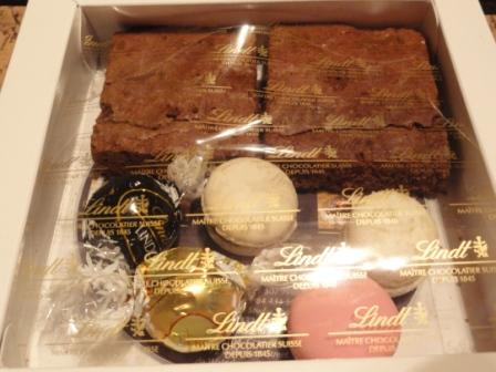 lindt chocolate gift
