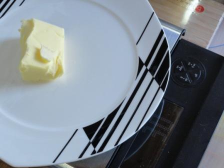 weigh the butter