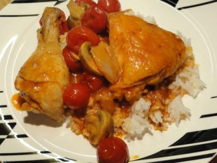White Wine Chicken Casserole