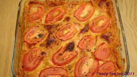 Tuna Lasagne
