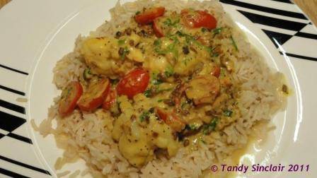 """""""Crayfish Curry With Poppy Seeds"""""""
