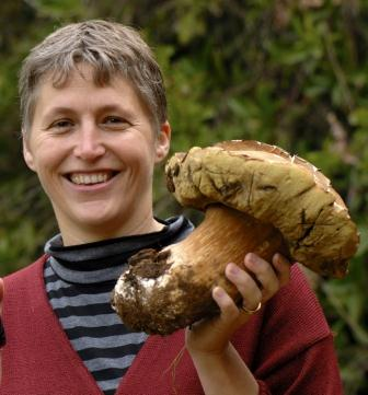 nora with boletus mushrooms found at delheim for my Gnocchi With Mushrooms