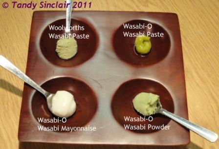 Wasabi Taste Test