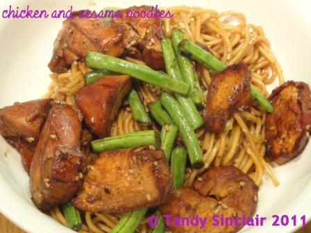 Chicken And Sesame Noodles