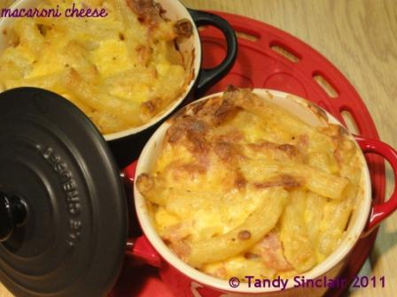 Macaroni Cheese Made With Home Made Cheese Sauce