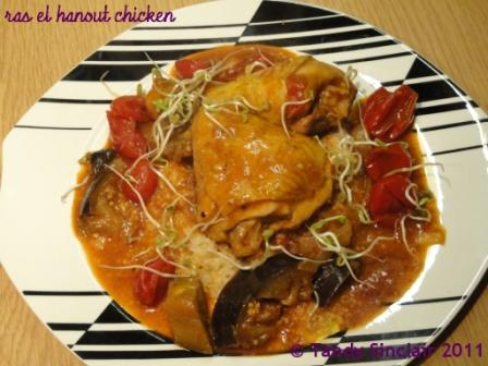 Ras El Hanout Chicken In Answer To Friday's Food Quiz Number 57