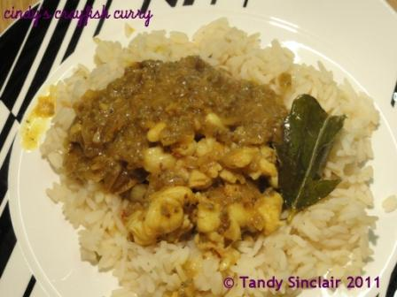 Cindy's Crayfish Curry