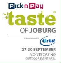 Taste Of Johannesburg Ticket Give Away