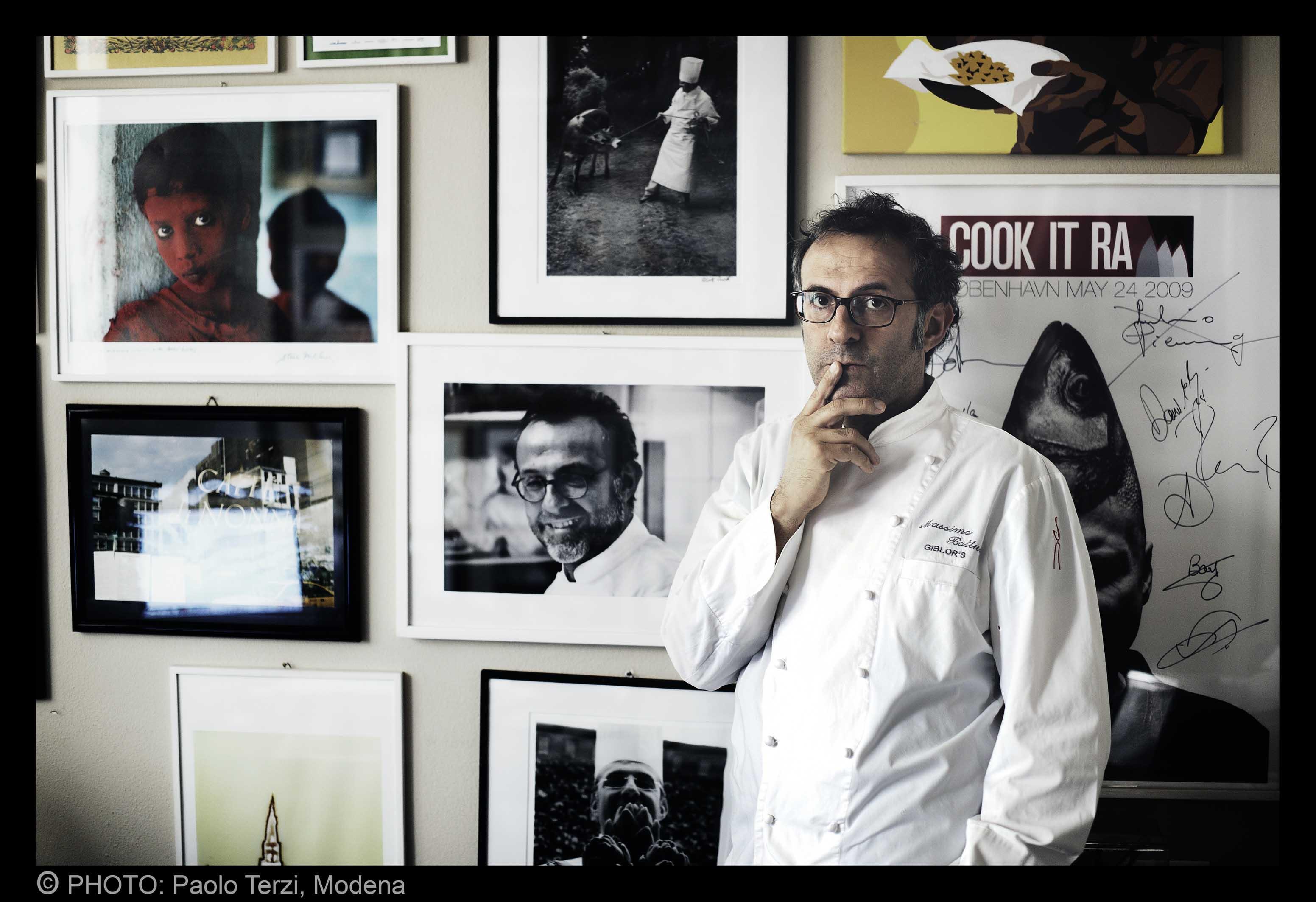 Massimo Bottura by Paolo Terzi