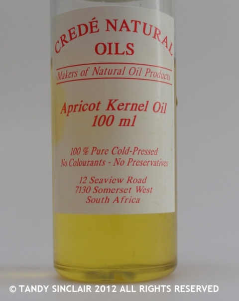 Apricot Kernel Oil In My Kitchen December 2012