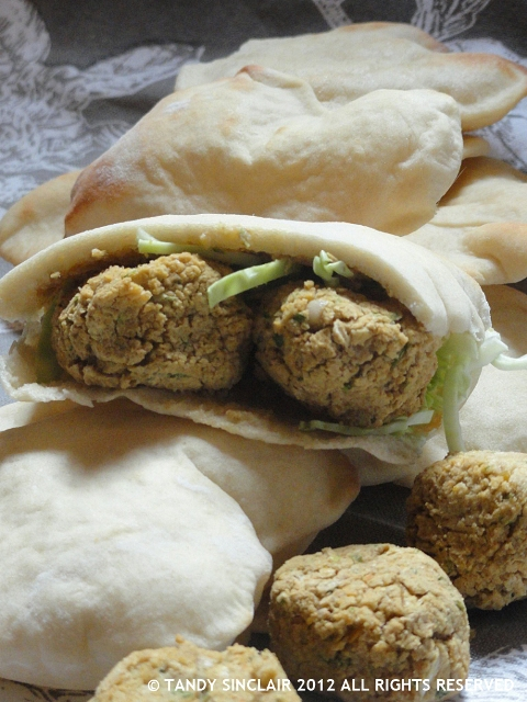Felafel in answer to Friday's Food Quiz Number 79