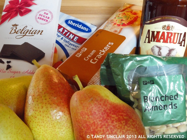 """Ingredients for Freshly Blogged Challenge 5"""